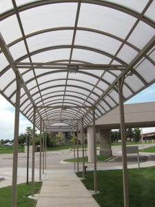 Spivak Walkway Canopy Underneath